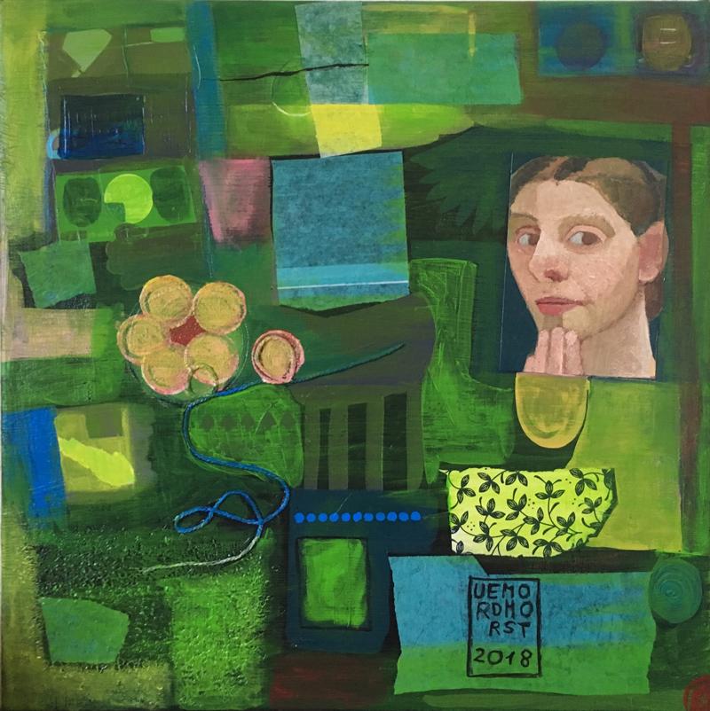 Paula grünt © Ute E. Mordhorst